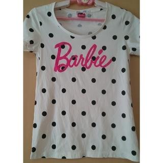 バービー(Barbie)のGW限定値下!Barbieユニクロ TシャツSサイズ(Tシャツ(半袖/袖なし))