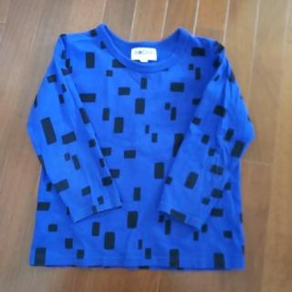 MARKEY'S - マーキーズ 120 カットソー 長袖 薄手 シャツ ロンT 青 ブルー 黒 春