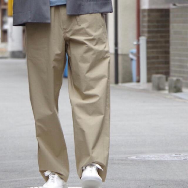 AURALEE SELVEDGE WEATHER CLOTH EASYPANTS メンズのパンツ(スラックス)の商品写真