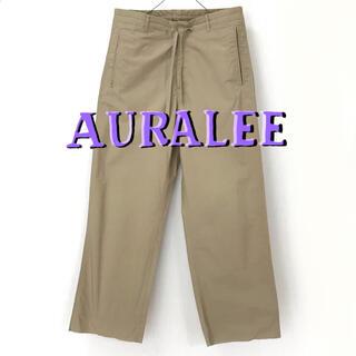 AURALEE SELVEDGE WEATHER CLOTH EASYPANTS(スラックス)