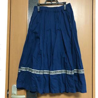 mercibeaucoup - メルシーボークー meribeaucoup  S メルミリ スカート ブルー