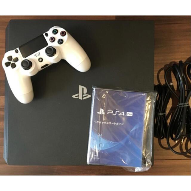 PlayStation4(プレイステーション4)のSONY PlayStation4 Pro 本体 CUH-7100BB01 エンタメ/ホビーのゲームソフト/ゲーム機本体(家庭用ゲーム機本体)の商品写真