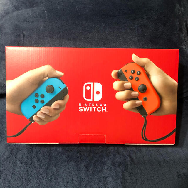 Nintendo Switch(ニンテンドースイッチ)のニンテンドースイッチ 本体 エンタメ/ホビーのゲームソフト/ゲーム機本体(家庭用ゲーム機本体)の商品写真