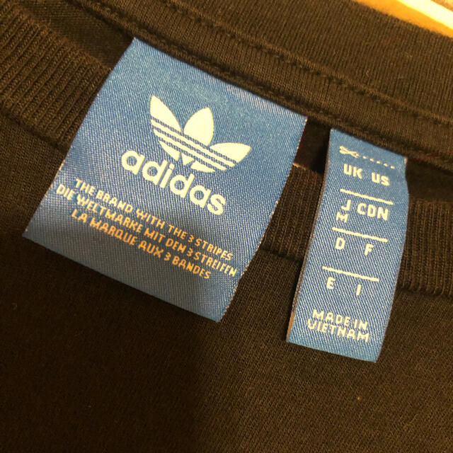 adidas(アディダス)のadidas originals クロップドトップス レディースのトップス(カットソー(長袖/七分))の商品写真