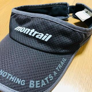 montrail - モントレイル montrail サンバイザー 帽子 ランニングキャップ 黒