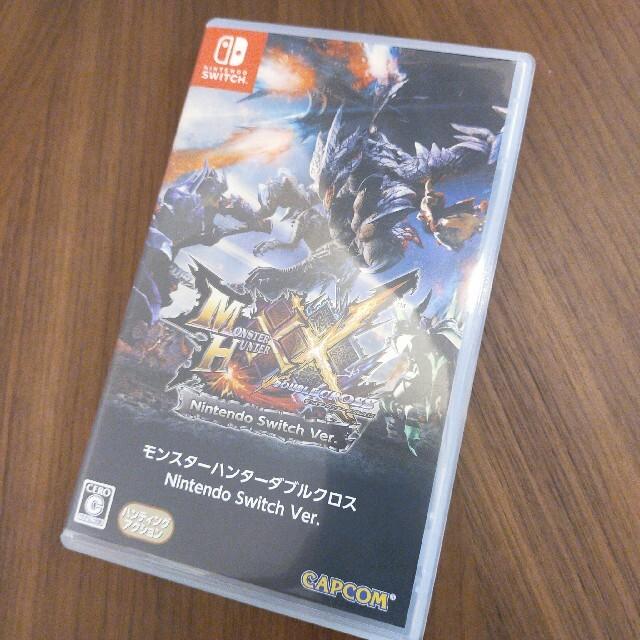 モンスターハンターダブルクロス Nintendo Switch Ver. Swi エンタメ/ホビーのゲームソフト/ゲーム機本体(家庭用ゲームソフト)の商品写真