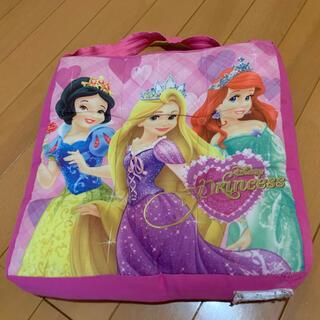 ディズニー(Disney)の最終値下げ!学童クッション 座布団 プリンセス ラプンツェル幼稚園 小学校(クッション)