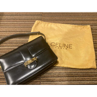 celine - オールドセリーヌショルダーバッグ馬車金具