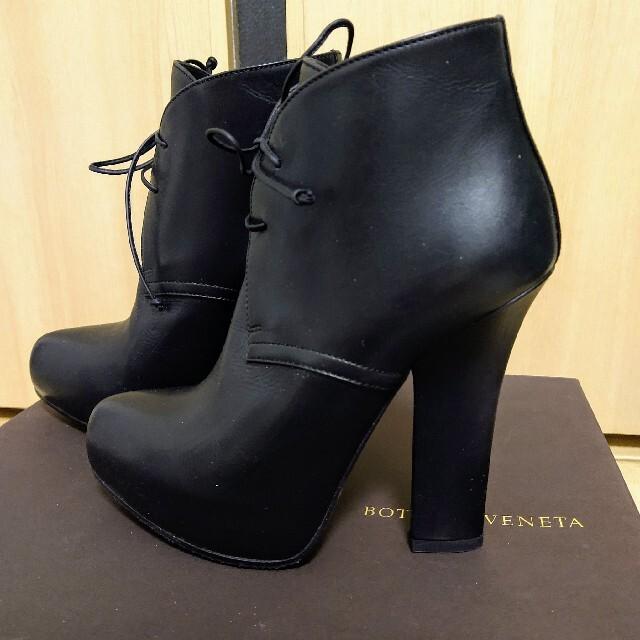 Bottega Veneta(ボッテガヴェネタ)のボッテガヴェネタ BOTTEGA VENETA ショートブーツ 35ハーフ レディースの靴/シューズ(ブーツ)の商品写真