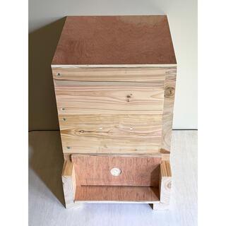 日本蜜蜂重箱式巣箱ハニーズハウス2021年モデル!送料無料!(虫類)