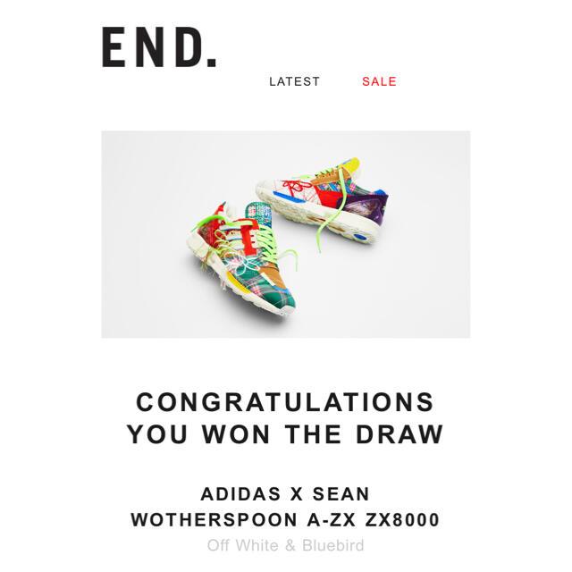 adidas(アディダス)のSean Wotherspoon x adidas ZX 8000 26.5cm メンズの靴/シューズ(スニーカー)の商品写真