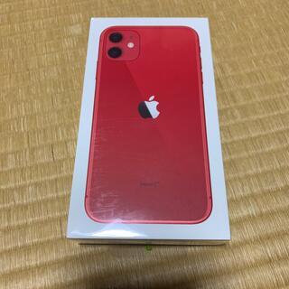 Apple - iPhone 11 128GB 赤 本体
