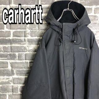 カーハート(carhartt)のカーハート☆マウンテンパーカー 古着 ゆるだぼ ワンポイント刺繍ロゴ e78(マウンテンパーカー)
