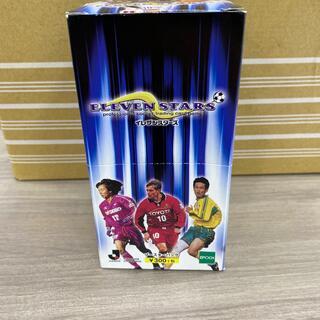 エポック(EPOCH)のELEVEN STARS ブースターパック 1992年 Jリーグ カード(Box/デッキ/パック)