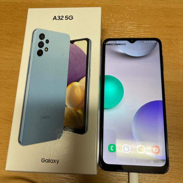 Galaxy(ギャラクシー)のGalaxy A32 5G simフリー スマホ/家電/カメラのスマートフォン/携帯電話(スマートフォン本体)の商品写真