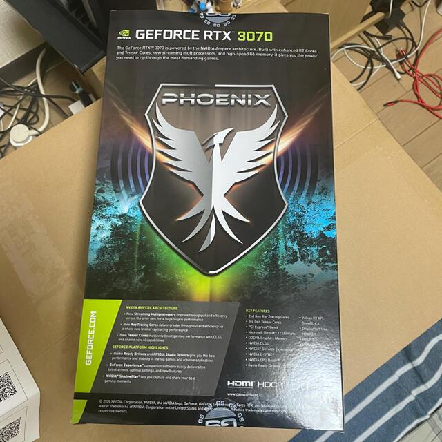 Gainward グラフィックボード RTX3070 PHOENIX 8G スマホ/家電/カメラのPC/タブレット(PCパーツ)の商品写真