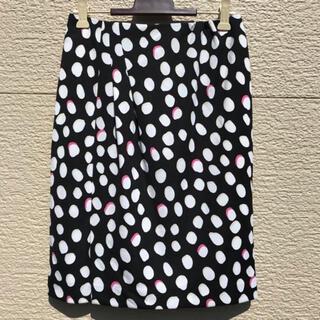 ジャスグリッティー(JUSGLITTY)の新品 JUSGLITTY ジャスグリッティー スカート 白 黒 ピンク 1(ひざ丈スカート)