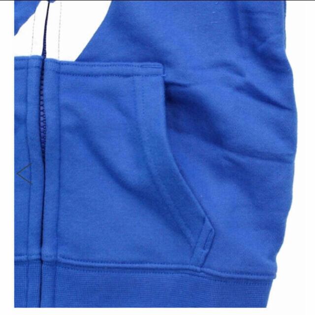 NIKE(ナイキ)のNikeナイキキッズパーカー105 キッズ/ベビー/マタニティのキッズ服男の子用(90cm~)(ジャケット/上着)の商品写真