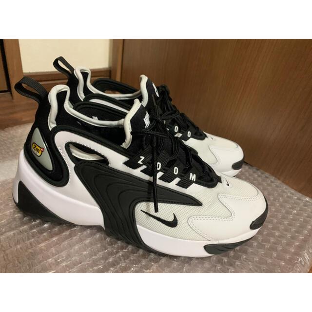 NIKE(ナイキ)のNike Zoom2K White 24.0 レディースの靴/シューズ(スニーカー)の商品写真