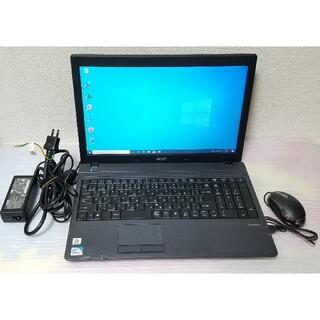Acer - acer ノートパソコン Windows10 エクセル ワード DVDマルチ