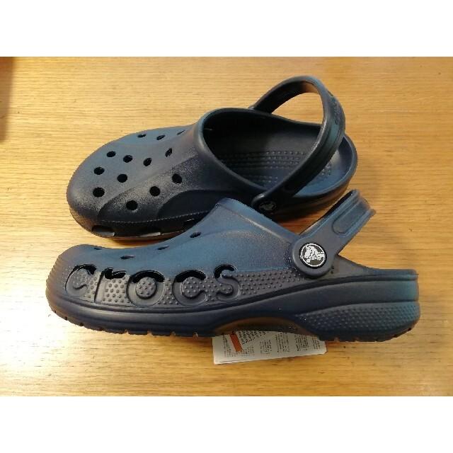 crocs(クロックス)の【スペシャルsale】今だけ値下げ早い者勝ちネイビークロックスサンダル24cm レディースの靴/シューズ(サンダル)の商品写真