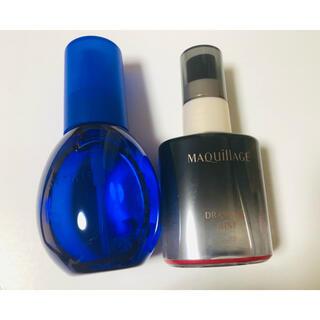 マキアージュ(MAQuillAGE)の雪肌精 クリアウェルネス Wバリアミスト &マキアージュ  ドラマティックミスト(化粧水/ローション)