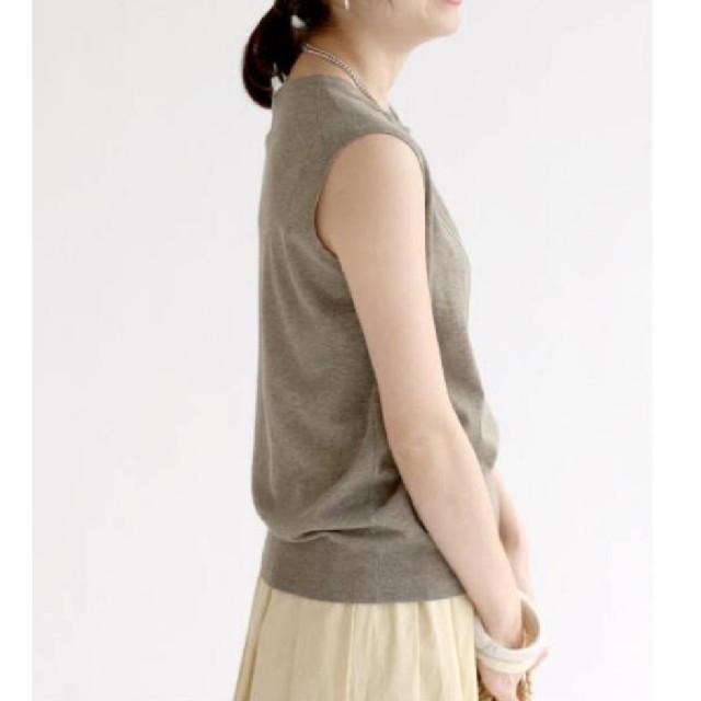 IENA(イエナ)のイエナ♡コットン麻ノースリーブプルオーバー レディースのトップス(ニット/セーター)の商品写真