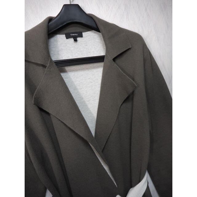 theory(セオリー)のセオリー 18AW コーディガン ダブルフェイス S レディースのジャケット/アウター(その他)の商品写真