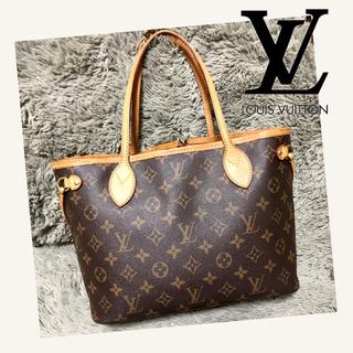 ルイヴィトン(LOUIS VUITTON)の美品◆Louis Vuitton ルイヴィトン ネヴァーフルPM(トートバッグ)