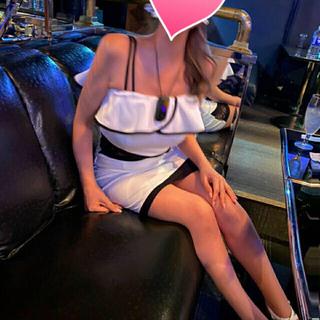 dazzy store - キャバクラ ドレス ワンピース モノクロ 肩出し オフショル 脇 シースルー