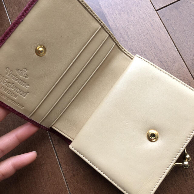 Vivienne Westwood(ヴィヴィアンウエストウッド)のヴィヴィアンウエストウッド がま口財布 レディースのファッション小物(財布)の商品写真