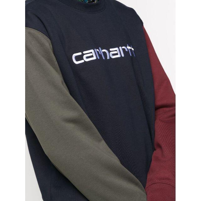 carhartt(カーハート)の新品 Carhartt WIP ロゴ 切り返し スウェット メンズのトップス(スウェット)の商品写真