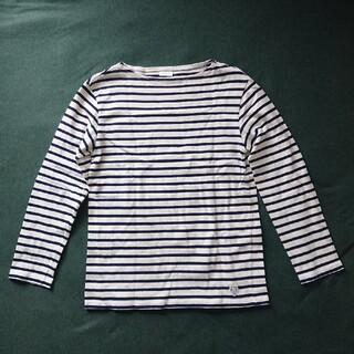 オーシバル(ORCIVAL)のオーシバル ボーダーカットソー ボートネック(Tシャツ/カットソー(七分/長袖))