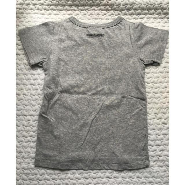 NEEDLE WORK SOON(ニードルワークスーン)のNEEDLE WORK S グレー Tシャツ size120 キッズ/ベビー/マタニティのキッズ服男の子用(90cm~)(Tシャツ/カットソー)の商品写真