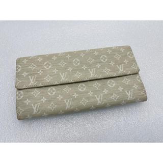 ルイヴィトン(LOUIS VUITTON)のD441 美品★ ルイヴィトン モノグラム 二つ折り財布(財布)