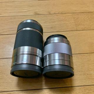 SONY - SONY SEL50F1.4 × SEL55-210 セット