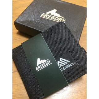 Gregory - GREGORY 二つ折り財布 ブラック