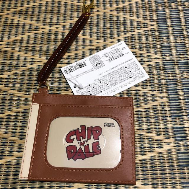 タグ付き チップ&デール  ICカードケース レディースのファッション小物(パスケース/IDカードホルダー)の商品写真