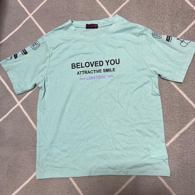 lovetoxic(ラブトキシック)のラブトキ 半袖Tシャツ キッズ/ベビー/マタニティのキッズ服女の子用(90cm~)(Tシャツ/カットソー)の商品写真