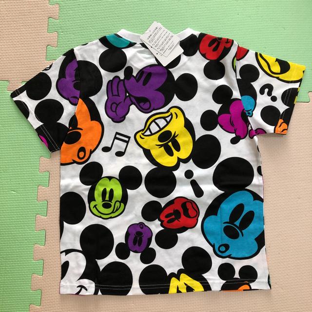 Disney(ディズニー)のディズニー Tシャツ ミッキー カラフル 140 キッズ/ベビー/マタニティのキッズ服男の子用(90cm~)(Tシャツ/カットソー)の商品写真