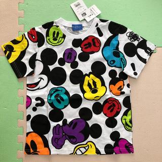 Disney - ディズニー Tシャツ ミッキー カラフル 140