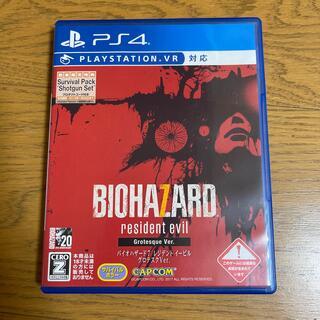 PlayStation4 - バイオハザード7 レジデント イービル グロテスクVer. PS4