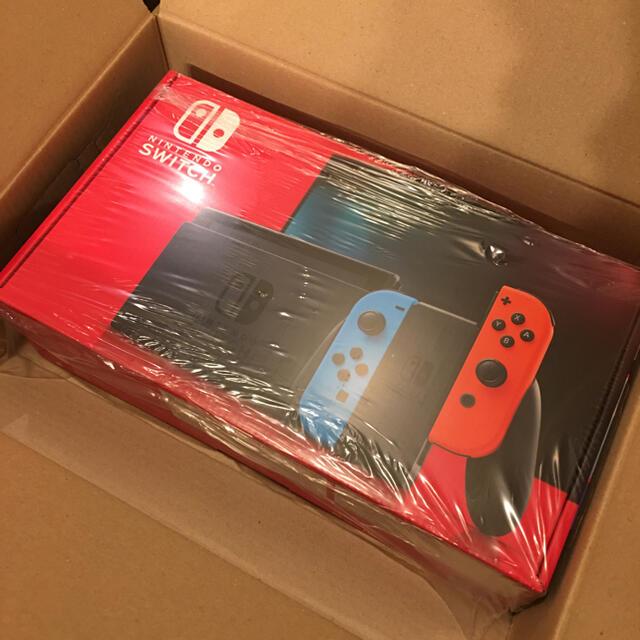 Nintendo Switch(ニンテンドースイッチ)の新品未使用 Nintendo Switch 本体 1台 エンタメ/ホビーのゲームソフト/ゲーム機本体(家庭用ゲーム機本体)の商品写真