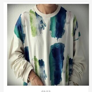 antiqua - アンティカ  ロングTシャツ