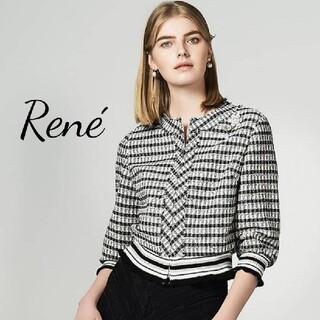 ルネ(René)の未使用♡ルネ♡ツイードブルゾン♡(ブルゾン)