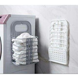 RR折りたたみ式汚れかご浴室掛け壁汚れかごトイレ汚れた服収納かご两点