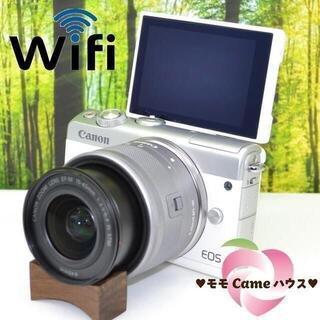 Canon - キヤノンEOS M100☆Bluetoothでスマホに簡単転送☆1527