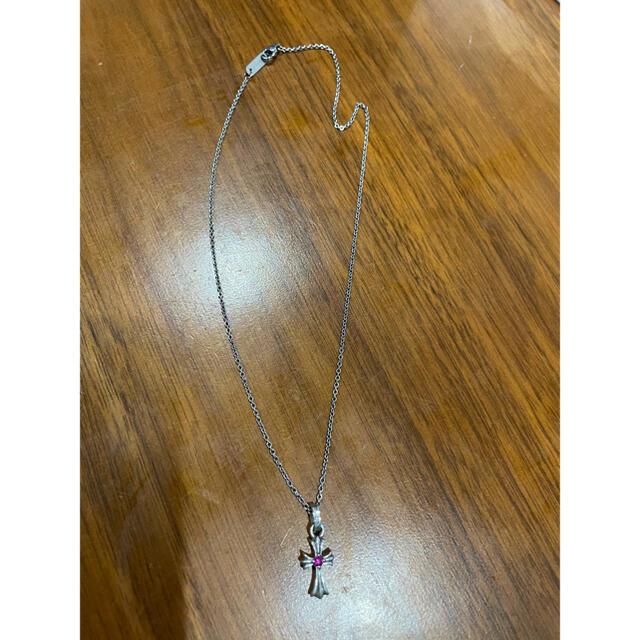 Chrome Hearts(クロムハーツ)のクロムハーツ ベビーファット ルビー チャーム メンズのアクセサリー(ネックレス)の商品写真
