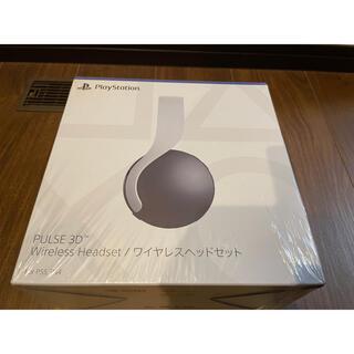 ソニー(SONY)のPS5 PULSE 3D ワイヤレスヘッドセット(ヘッドフォン/イヤフォン)