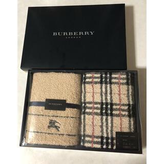 BURBERRY - 新品 バーバリー   フェイスタオル2枚セット ノバチェック 他